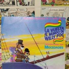 Discos de vinilo: MOCEDADES -LA VUELTA AL MUNDO DE WILLY FOG - SINGLE VINILO 1984. Lote 230414425