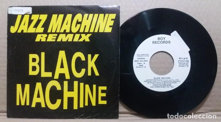 BLACK MACHINE / JAZZ MACHINE / SINGLE 7 INCH (Música - Discos - Singles Vinilo - Pop - Rock Internacional de los 90 a la actualidad)