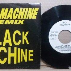 Discos de vinilo: BLACK MACHINE / JAZZ MACHINE / SINGLE 7 INCH. Lote 230420970