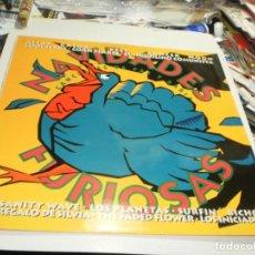 Discos de vinilo: LP NAVIDADES FURIOSAS CANCIONES DE PAZ Y RABIA. LA FÁBRICA MAGNÉTICA 1993 INSERTO PROBADO, SEMINUEVO. Lote 230421915