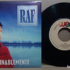 Discos de vinil: RAF / INTERMINABLEMENTE / SINGLE 7 INCH. Lote 230424605