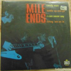 Discos de vinil: MILE ENDS – CANDY MAN / BOTTLE UP AND GO / I CAN NEVER SAY / BRING 'EM ON IN - EP 2000. Lote 230430280