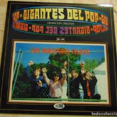 Disques de vinyle: LOS HUESPEDES FELICES – GIGANTES DEL POP - EP 1996. Lote 230431730