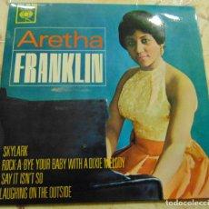 Discos de vinilo: ARETHA FRANKLIN – SKYLARK + 3 - EP 1963. Lote 230432215