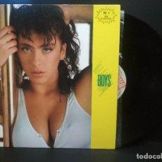 Discos de vinilo: SABRINA. MAXI 12´´45 RPM. BOYS +IDEM DUB VERSION. BLANCO Y NEGRO MUSIC. AÑO 1987. PEPETO. Lote 230440765