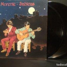 Discos de vinilo: MORENTE-SABICAS. GRANADA-NUEVA YORK. RCA 1990. 2 LP'S PEPETO. Lote 230441505