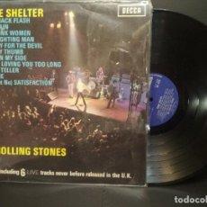 Discos de vinilo: THE ROLLING STONES - GIMME SHELTER - LP DECCA - SKL 5101 - UK 1971 PEPETO. Lote 230445475