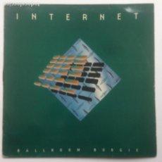 Discos de vinilo: INTERNET BALLROOM BOOGIE - MAXI - BOY RECORDS 1996 - SOLO PORTADA. Lote 230458925
