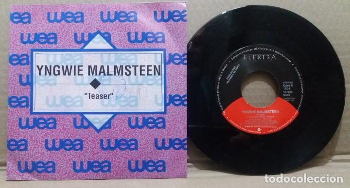 YNGWIE MALMSTEEN / TEASER / SINGLE 7 INCH (Música - Discos - Singles Vinilo - Pop - Rock Internacional de los 90 a la actualidad)