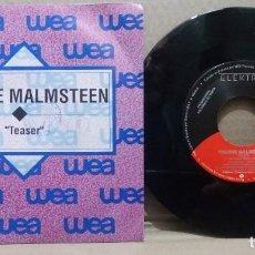 Discos de vinilo: YNGWIE MALMSTEEN / TEASER / SINGLE 7 INCH. Lote 230470855