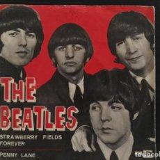 Discos de vinilo: THE BEATLES – STRAWBERRY FIELDS FOREVER / PENNY LANE - SINGLE DSOL 66.077. Lote 230483985