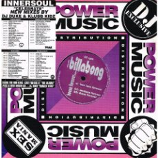 Discos de vinilo: BILLABONG - HOUSE FOREVER - MAXI SINGLE 1996. Lote 230518920