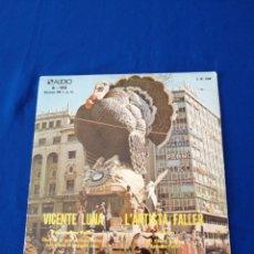 Discos de vinilo: PASACALLE VICENTE LUNA ARTISTA FALLER. Lote 230520845