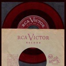 Discos de vinilo: MIKLOS ROZSA. LYGIA. BANDA SONORA. PELICULA QUO VADIS. CINE / MARIO LANZA. TENOR. TEMPTATION. SINGLE. Lote 230525645