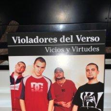 Discos de vinilo: DISCO VINILO VIOLADORES DEL VERSO VICIOS Y VIRTUDES COMO NUEVO DOBLE V. Lote 230535150