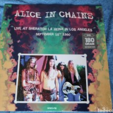 Discos de vinilo: ÁLBUM LP DISCO VINILO ALICE IN CHAINS LIVE AT SHERATON LOS ÁNGELES 1990 NUEVO. Lote 230541790