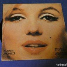 Discos de vinilo: EXPROBS3 DISCO 7 PULGADAS MARILYN MONROE I´M GONNA FILE MY CLAM 1982 PLANETA BUEN ESTADO. Lote 230542045