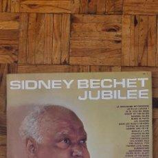 Discos de vinilo: SIDNEY BECHET – JUBILÉE LABEL: DISQUES VOGUE – DP. 11, VOGUE – DP. 11 SERIES: PLAISIR DOUBLE. Lote 230544845