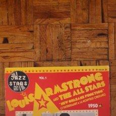 Discos de vinilo: LOUIS ARMSTRONG AND THE ALL STARS* – VOL. 1 - NEW ORLEANS FUNCTION (L'ENTERREMENT A LA NOUVELLE ORL. Lote 230545230