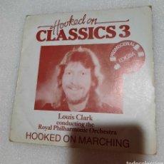 Discos de vinilo: LOUIS CLARK - HOOKED ON CLASSICS 3. Lote 230546280
