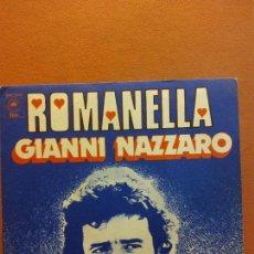 Disques de vinyle: SINGLE. ROMANELLA. GIANNI NAZZARO. EPIC. Lote 230550520