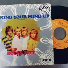 Discos de vinil: BUCKS FIZZ-SINGLE MAKING YOUR MIND UP. Lote 230555730