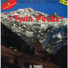 Discos de vinilo: D. TWINS - FALLING - ORIGINAL REMIXES TAKEN FROM THE SOUNDTRACK TWIN PEAKS - MAXI SINGLE 1991. Lote 230557435
