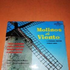 Discos de vinilo: MOLINOS DE VIENTO. L. PASCUAL FRUTOS & PABLO LUNA. LP. ALHAMBRA 1963. Lote 230566930