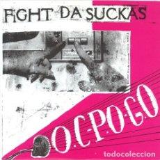 """Discos de vinilo: FIGHT DA SUCKAS – OC-PO-GO VINYL, 7"""", 33 ⅓ RPM RARO EP POST HARDCORE. Lote 230570830"""