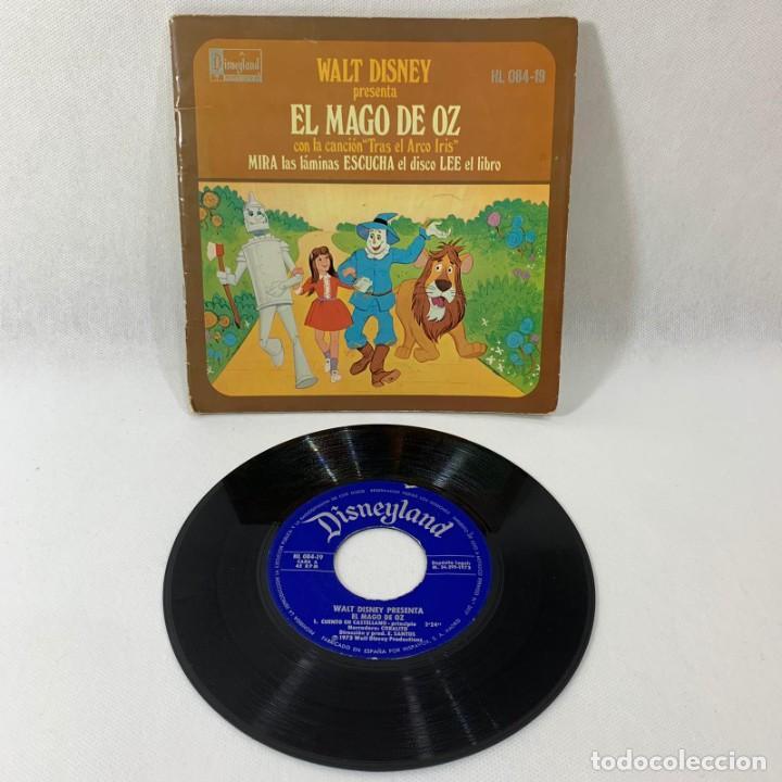 SINGLE LIBRO EL MAGO DE OZ -- WALT DISNEY -- 1973 -- (Música - Discos - Singles Vinilo - Música Infantil)