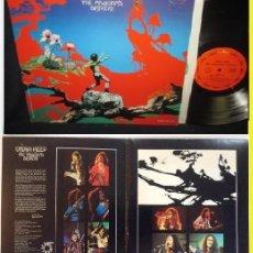 Discos de vinilo: URIAH HEEP - THE MAGICIAN'S BIRTHDAY 72 !! EDIC ORG USA + SUPER DOBLE CARPETA, TODO EXC. Lote 83910840