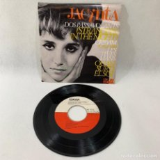 Discos de vinilo: SINGLE JACINTA -- DOS PASSAVOLANT (STRANGERS IN THE NIGHT) -- 1966 BARCELONA. Lote 230583820