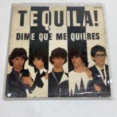 Discos de vinilo: SINGLE TEQUILA - DIME QUE ME QUIERES - ESPAÑA - AÑO 1980. Lote 230586665