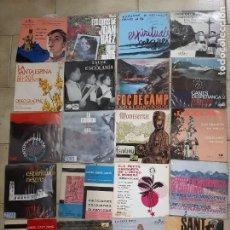 Discos de vinilo: LOTE DE 20 EP'S DE MUSICA POPULAR CATALANA, CORALS, ORFEONS, SARDANES.... Lote 230592710
