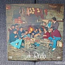 Discos de vinilo: A RODA - A RODA. EDITADO POR MOVIEPLAY. AÑO 1.977. FOLKLORE GALLEGO. Lote 230607525