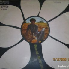 Discos de vinilo: DAVID MCWILLIAMS - DAVID MCWILLIAMS LP - ORIGINAL ESPAÑOL - MOVIEPLAY RECORDS 1968 - STEREO -. Lote 230611005