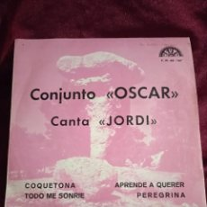 Discos de vinilo: CONJUNTO OSCAR. CANTA JORDI. Lote 230642815