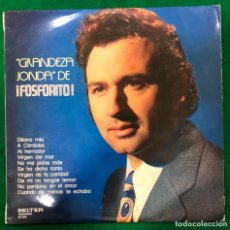 Discos de vinilo: GRANDEZA JONDA DE FOSFORITO. LP BELTER 1976. RF -8938 / GUITARRA JUAN CARMONA HABICHUELA Y PEPE. Lote 230661880