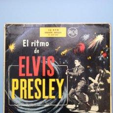 Discos de vinilo: EL RITMO DE ELVIS PRESLEY VG+ 1956 1ª EDICIO ESPAÑOLA 3-20162 EDDIE COCHRAN GENE VINCENT BUDDY HOLLY. Lote 230674800