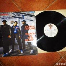 Discos de vinilo: RUN-DMC RUN'S HOUSE MAXI SINGLE VINILO ESPAÑA DEL AÑO 1987 CONTIENE 4 TEMAS HIP HOP RAP RARO. Lote 230678655