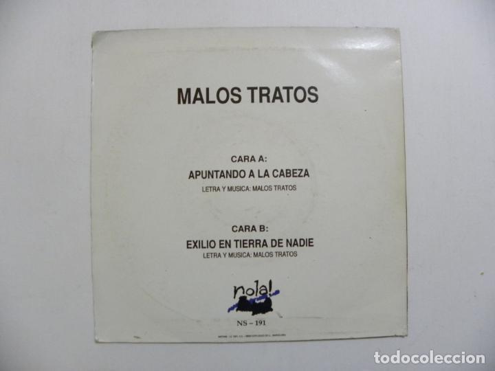 Discos de vinilo: DISCO MALOS TRATOR. EL BESO DEL CAMALEON.1990. - Foto 2 - 230683525