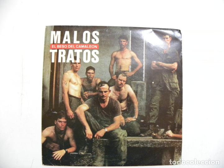 DISCO MALOS TRATOR. EL BESO DEL CAMALEON.1990. (Música - Discos - Singles Vinilo - Grupos Españoles de los 90 a la actualidad)