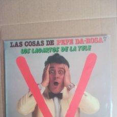 Discos de vinilo: DISCO VINILO LP LAS COSAS DE PEPE DA ROSA V LOS LAGARTOS DE LA TELE 1985. Lote 230696220