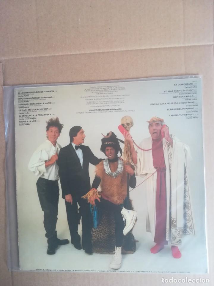 Discos de vinilo: DISCO VINILO LP EL LOCO MUNDO DE LOS PAYASOS GABY MILKI FOFITO 1982 - Foto 2 - 230696610
