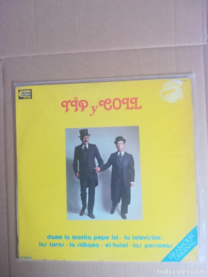 DISCO VINILO LP TIP Y COLL DAME LA MANITA PEPE LUI 1978 (Música - Discos - LPs Vinilo - Música Infantil)