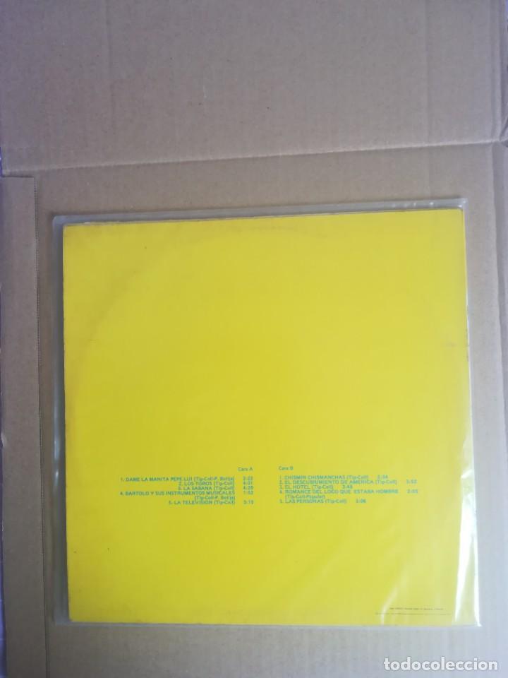 Discos de vinilo: DISCO VINILO LP TIP Y COLL DAME LA MANITA PEPE LUI 1978 - Foto 2 - 230696820