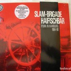 Discos de vinil: SLAM- BRIGADE HAISFICHBAR / PUNK IN HAMBURG 1984 - 90 / LP. Lote 230698590