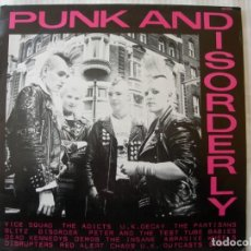 Discos de vinil: PUNK AND DISORDERLY / LP. Lote 230699145
