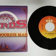 """Dischi in vinile: 1220- THE BYRDS MR TAMBOURNE MAN - VIN 7"""" POR VG DIS VG. Lote 230700850"""