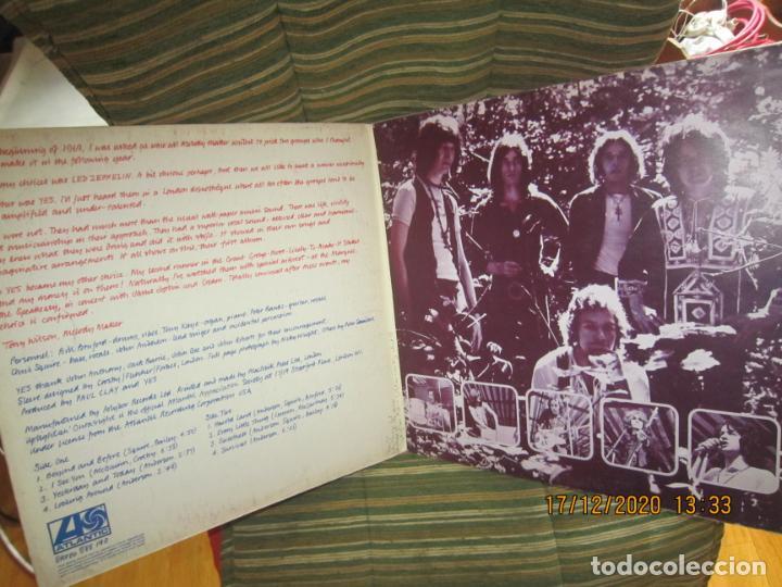 Discos de vinilo: YES - YES LP - ORIGINAL INGLES - DEBUT ALBUM - ATLANTIC 1969 - GATEFOLD COVER - PLUM LABEL - Foto 5 - 230704405